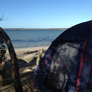Spalding Cove Camp  - Beach Front Camping