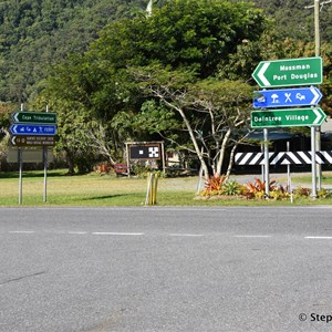 Junction Mossman-Daintree Rd & Cape Tribulation Rd