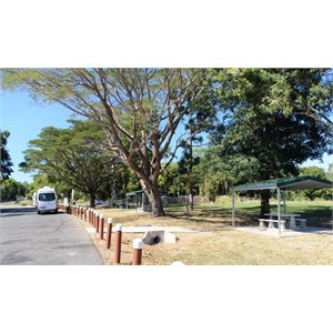 Parking and picnic area
