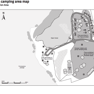 Poverty Creek camping area