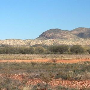 Arltunga Tourist Drive scenery