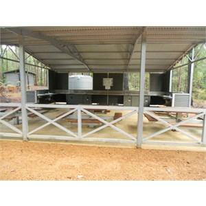 Baden Powell camp kitchen
