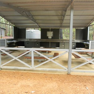 Baden Powell camp kitchen