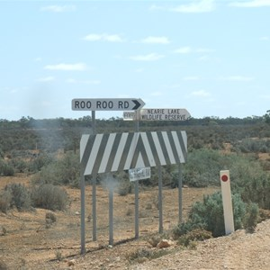 Old Broken Hill Road - Old Roo Roo Road Intersection