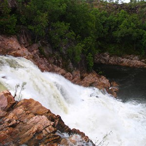 Middle Falls after Cyclone Monica 2006