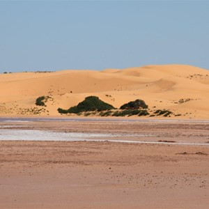 Camel Camp Tank Lake & Dunes