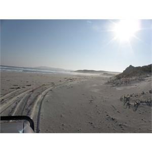 Hamersley Beach Track beach