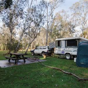 Mooraback Campground, Credit: J Spencer, Copyright: OEHand & www.nationalparks.nsw.gov.au