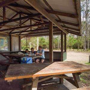Brushy Mountain Campground, Credit: J Spencer, Copyright: OEHand & www.nationalparks.nsw.gov.au