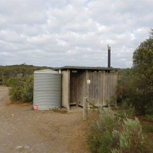 Camp Ground toilet