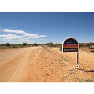 Turnoff signpost