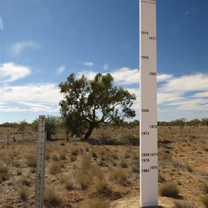 Flood comparison gauge
