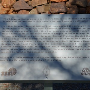 Early Settlers and Surveyors Memorial