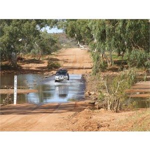 Lyons River Crossing on Ullawarra Road