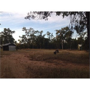 Facilities include covered picnic shed, modern drop toilet and bins.
