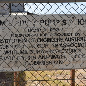 Millewa A Pump Station