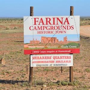 Farina Turn Off
