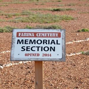 Farina Town Cemetery