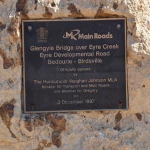 Glengyle Bridge Memorial