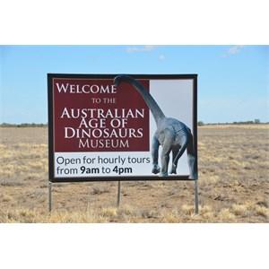 Australian Age of Dinosaurs Turn Off