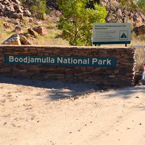 Boodjamulla (Lawn Hill) National Park Boundary Sign