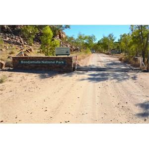 Boodjamulla (Lawn Hill) National Park Boundary Sign