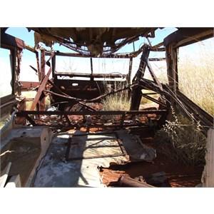 The landrover Wreck - 1 Aug 2006