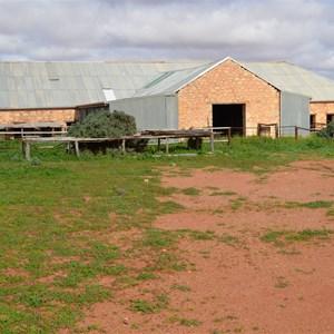Coondambo Shearing Shed