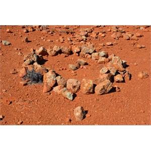 Aboriginal Stone Arragements