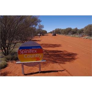 Spinifex Aboriginal Western Boundary