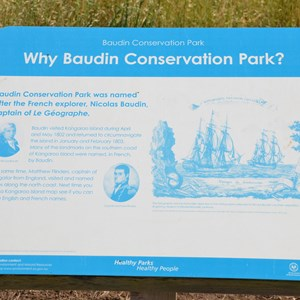 Baudin & Bates Information Signs