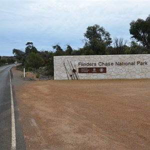 Flinders Chase National Park Boundary Sign