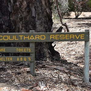 Coulthard Reserve Turn Off