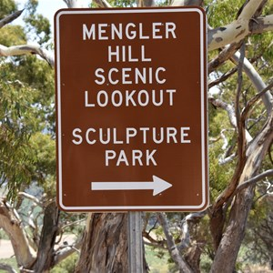 Mengler Hill Lookout Turn Off