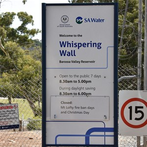 Whispering Wall Turn Off