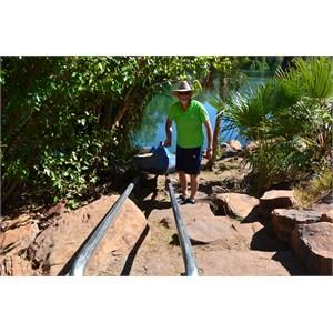 Upper Gorge Walk Track - Portage Location