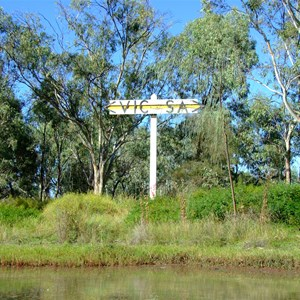 South Australia - Victoria Murray River Border Marker