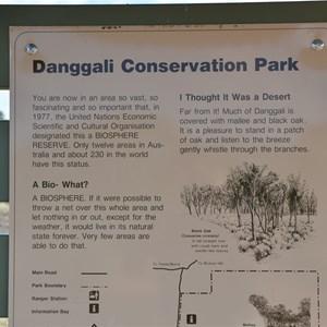 Danggali Conservation Park Southern Boundary Information Bay