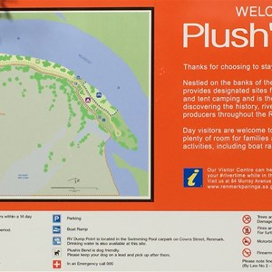Plush's Bend Camping Area