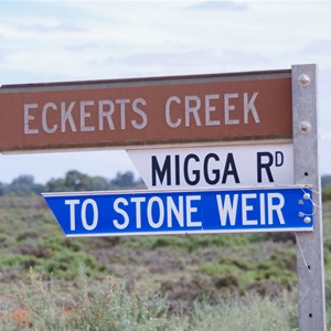 Eckerts Creek Turn Off