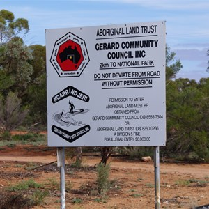 Gerard Aboriginal Community Boundary