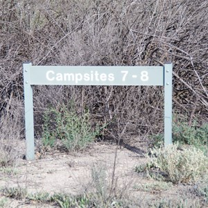 Campsites 7 - 8 Turn Off - Katarapko Creek