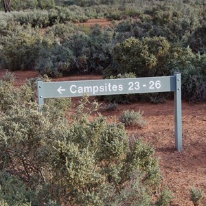 Campsites 23 - 26 Turn Off - Katarapko Creek