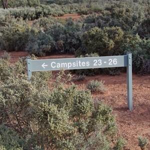 Campsites 23 - 26 Turn Off - Katarapko Creek