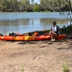 Nelbuck Creek Entrance - Murray River