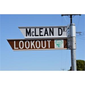 Renmark Lookout Turn Off