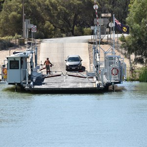 Lyrup Ferry Crossing