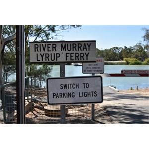 Lyrup Ferry Crossing
