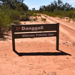Danggali Wilderness Protection Area Boundary Sign