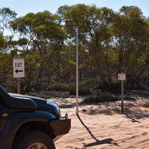 Cooltong Conservation Park Track Junction